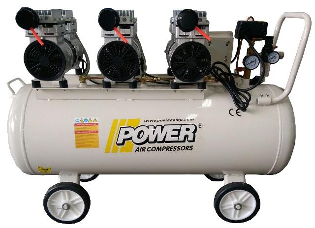 Power serisi Sessiz ve Yağsız Kompresörler